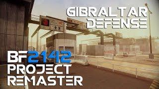 Battlefield 2142 Project Remaster raw gameplay - Gibraltar defense
