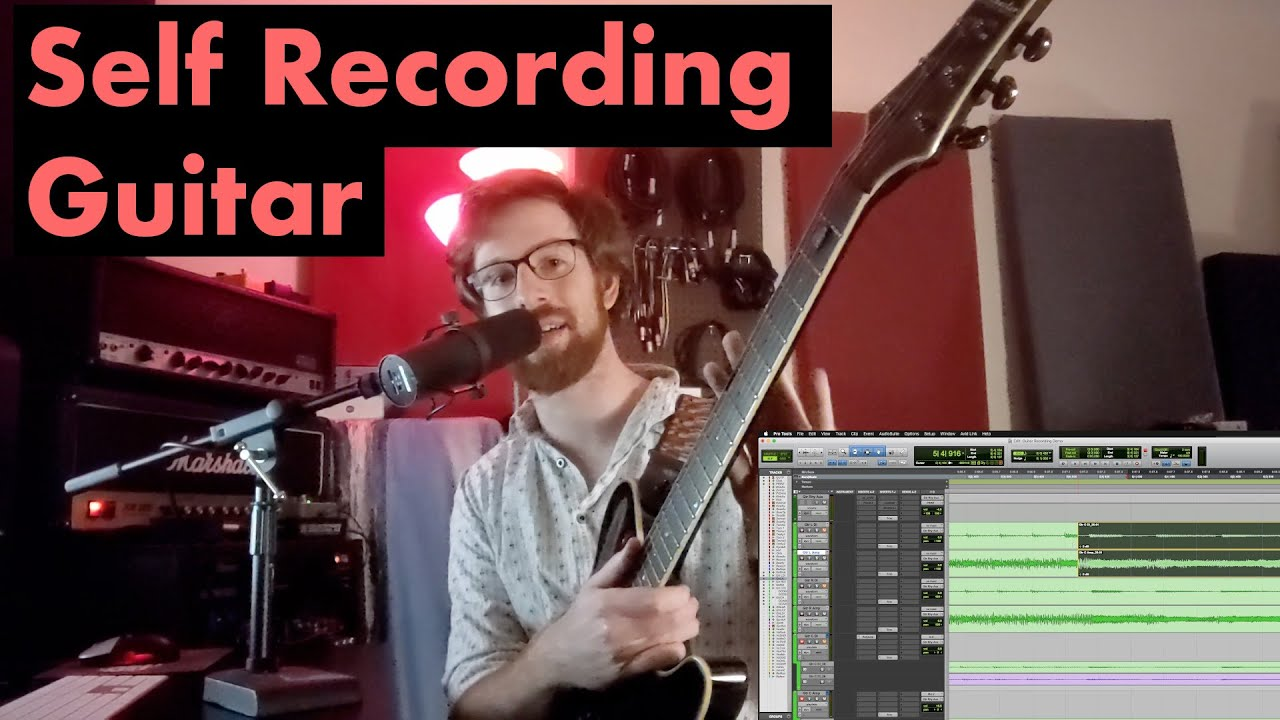 Video: Self-Recording Guitar