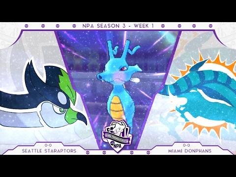 I'VE GOT YOU IN MY SIGHTS [NPA Week 1 vs. Miami Donphans] Pokemon Sun & Moon Live Wifi Battle