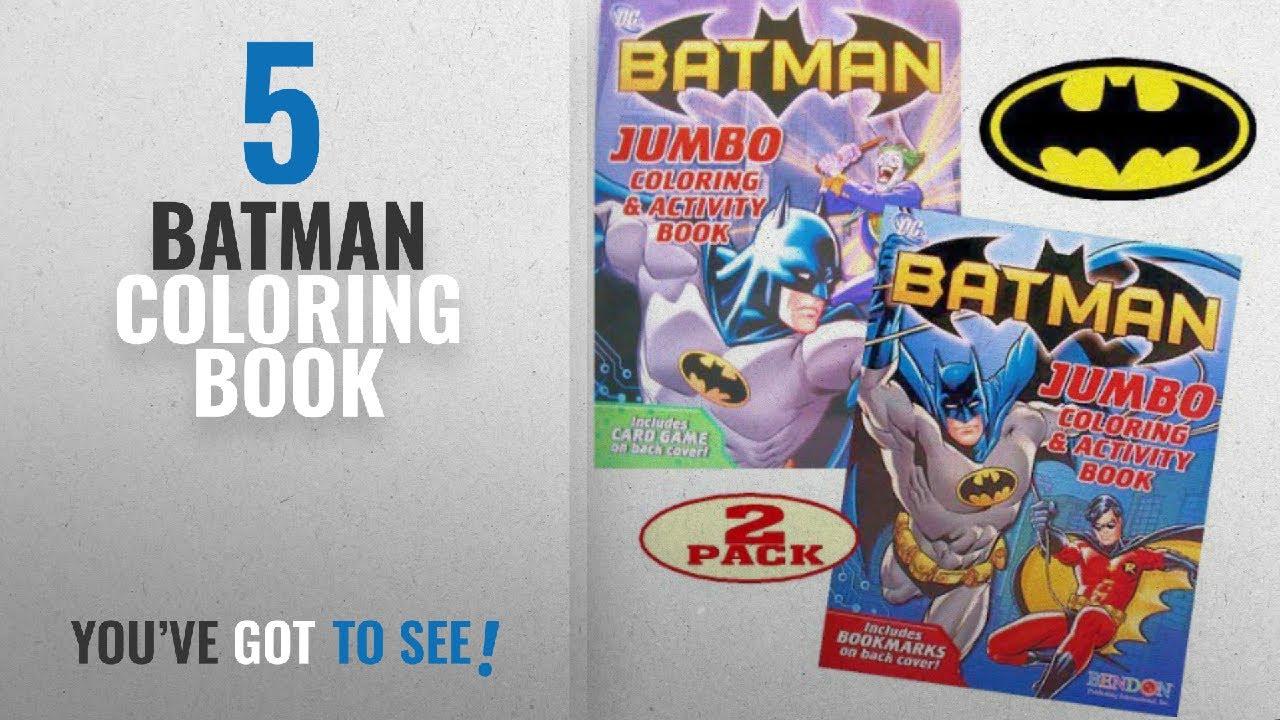 Top 10 batman coloring book 2018 batman coloring and activity book set 2 coloring books