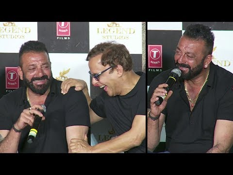 Sanjay Dutt's FUNNY Moments With Reporters...