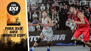 Philippines in an epic battle vs. China - Full Game - FIBA 3x3 U23 World Cup 2018