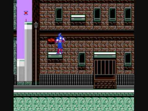 обзор Captain America, Капитан Америка  на денди nes dendy