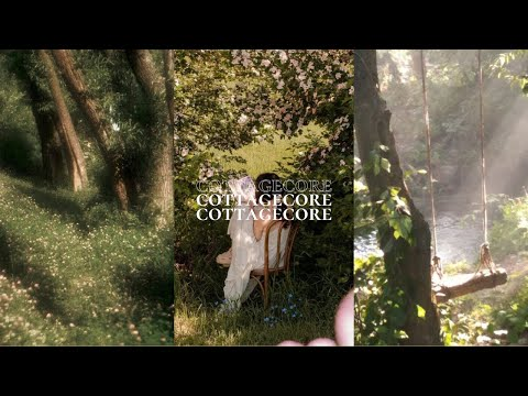 a dreamy cottagecore study playlist for fairies 🧚♀️ relaxing harp music + spring ambience