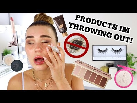 Full Face Using Products I'm Throwing Out!!