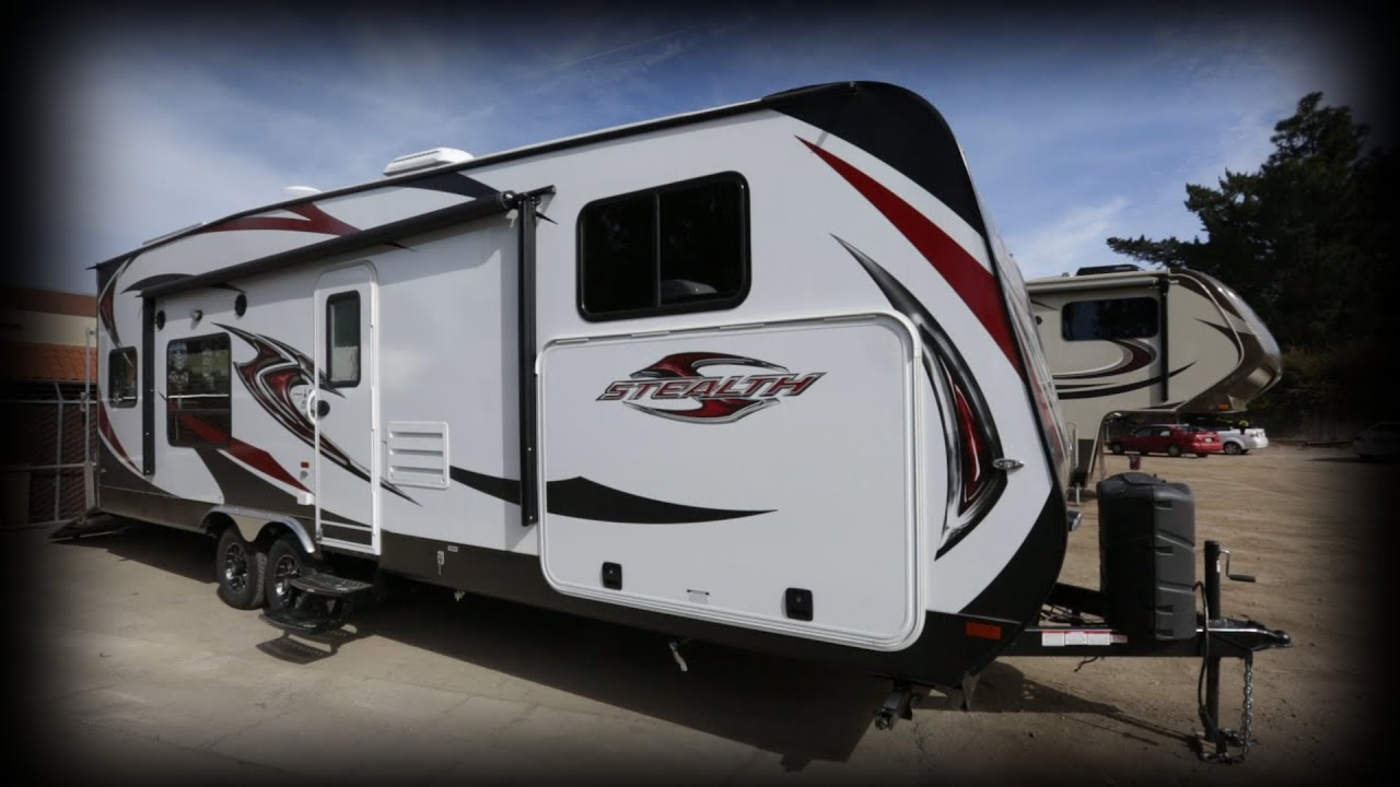2017 Forest River Rv Stealth Ak2612 Toy Hauler Stock 5360