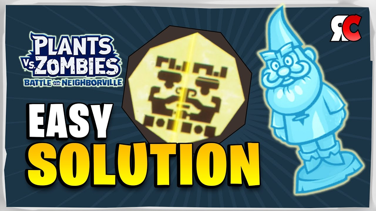 DIAMOND GNOME Cog Room Puzzle Solution | Plants vs Zombies: Battle for  Neighborville
