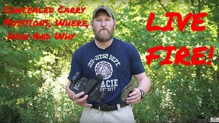 Concealed Carry Positions, Where To Carry And Why – LIVE FIRE