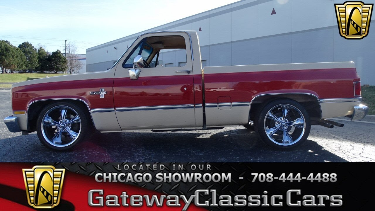 All Chevy 1984 chevrolet c10 : 1984 Chevrolet C10 Gateway Classic Cars Chicago #1192 - YouTube