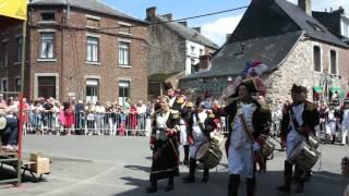 Saint-Roch HsH 2015 - Départ de la Procession et Marche Militaire