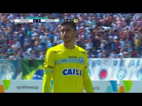 Londrina x Cruzeiro HD Melhores Momentos Primeira liga★Leia a Descrição! 03/09
