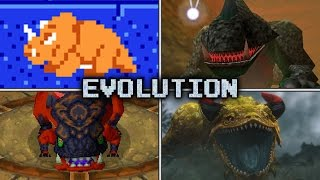 Evolution of Dodongo Battles in Zelda games