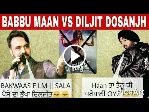 Babbu Maan replied to Diljit Dosanjh about...