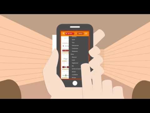 Takeaway.com Android app - Order Food Online