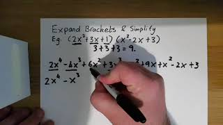 Algebra - Expanding and Simplifying Brackets with Maths Trick