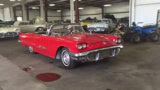 1960 Ford Thunderbird Convertible | For Sale | Online Auction