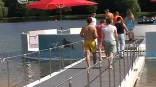 Rekordversuch im Dessauer Waldbad - RAN1