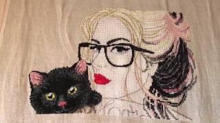 Вышивка крестом: СП Мои любимые коты /проект по авторской схеме/ отчет