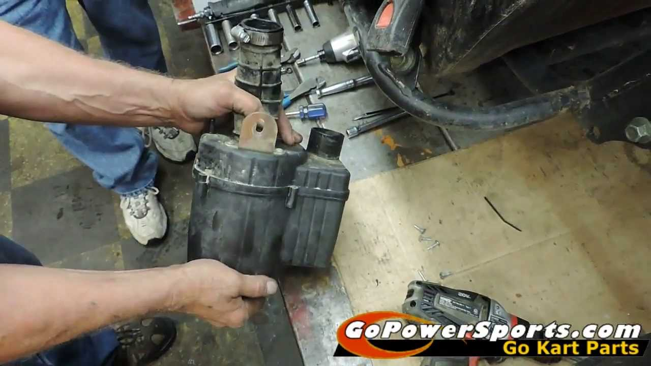OffRoad Go Kart Air Cleaner Assembly Installation
