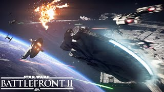 Star Wars Battlefront II: Official Starfighter Assault Gameplay Trailer