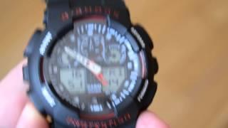 Наручные часы Casio G-shock (оригинальная копия) HD(Shock GA 100 Цена: 249 грн Функция: двойное время, дата, неделя; секундомер, таймер; будильник, 12/24 часовой формат;..., 2015-06-06T14:11:08.000Z)
