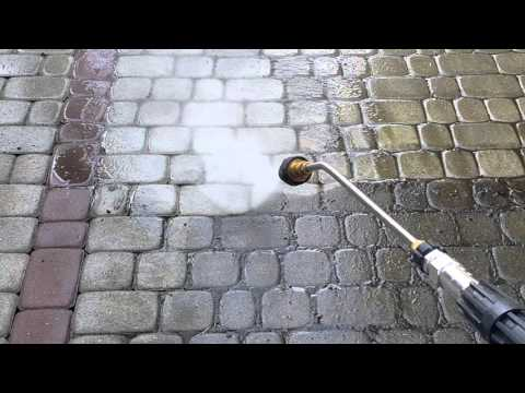 Mycie czyszczenie kostki brukowej Lublin