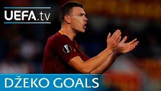 Watch five goals from Edin Džeko