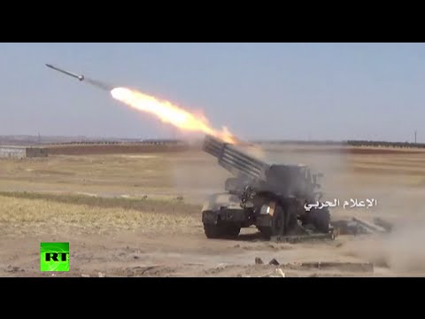 Syria combat footage: Heavy fighting in Northern Aleppo