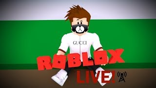 ROBLOX LIVE! July 25 Live stream!