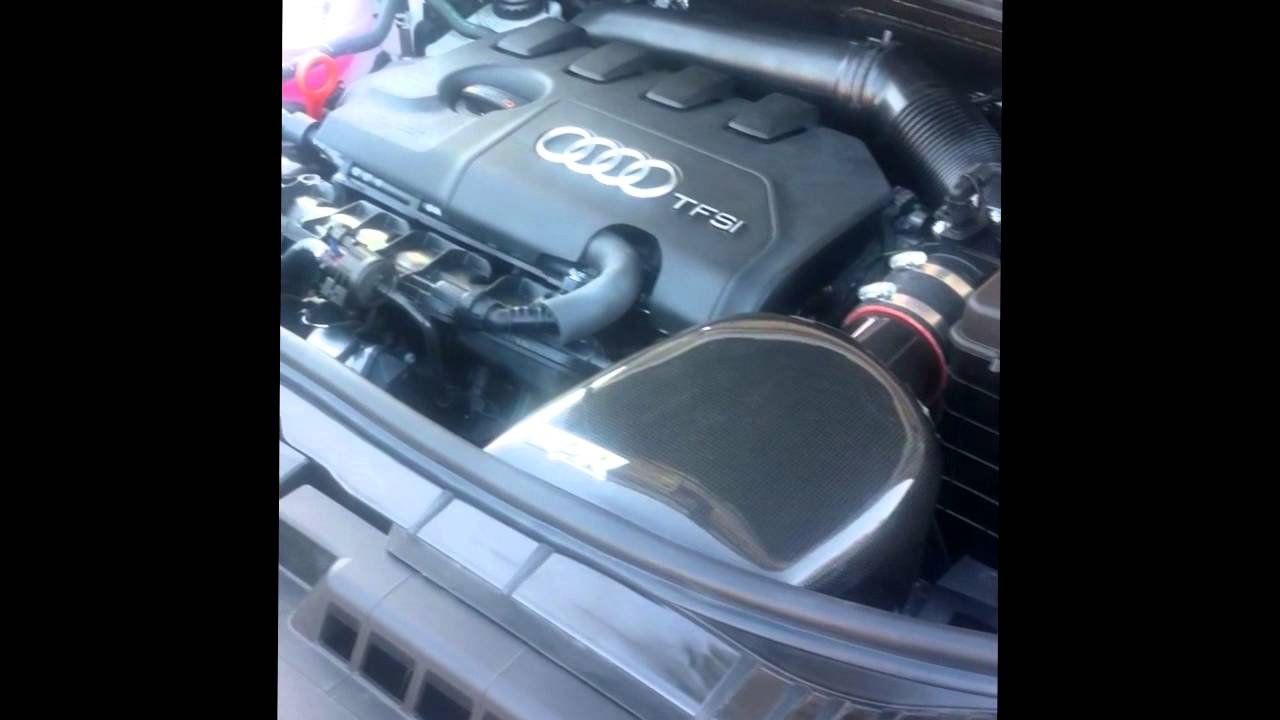 Audi A3 1.8TFSI - OEM Air Filter Vs GoAPR Carbonio Air ... | Doovi
