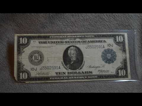 Set of 1914 Federal Reserve Notes