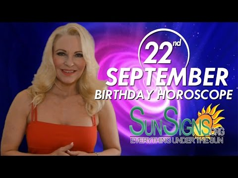 Birthday September 22nd Horoscope Personality Zodiac Sign Virgo Astrology