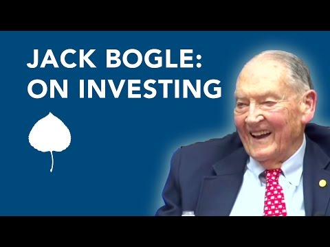 Vanguard Founder Jack Bogle on Mutual Funds, Common Sense Investing and the Stock Market