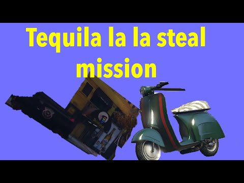 how to do the tequila la steal mission for MC supplies.