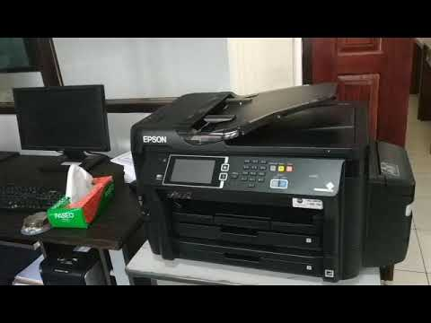 Epson L1455 A3 Wi-Fi Duplex All-in-One Ink Tank Printer - Unboxing and  Installation