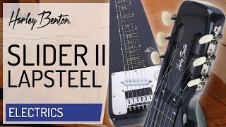 Harley Benton - Slider II Lap Steel w/?Stand - Presentation -