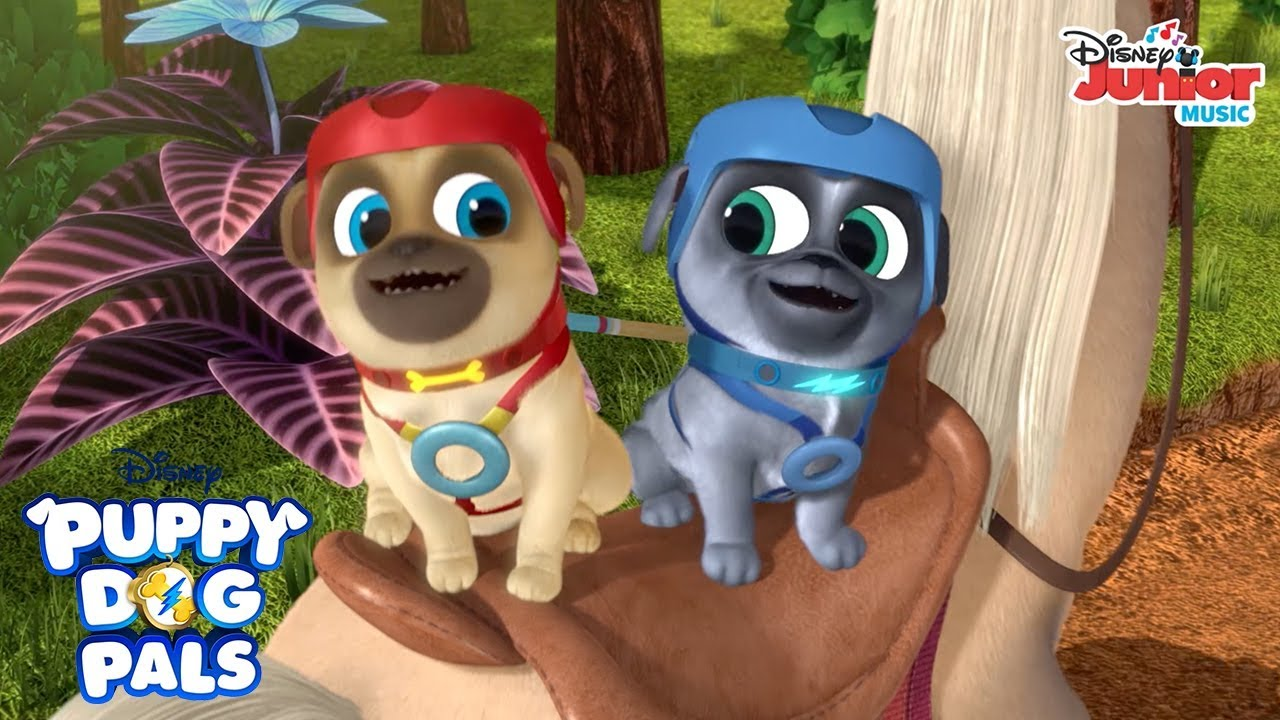 Pups On The Trail Music Video Puppy Dog Pals Disney Junior Youtube