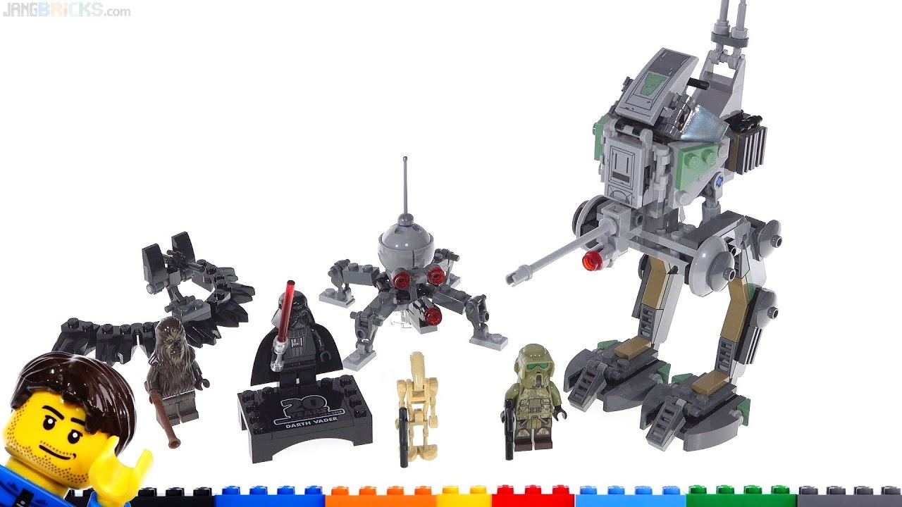 Lego Star Wars 20th Anniv Clone Scout Walker At Rt Review 75261