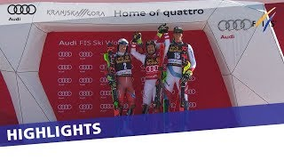 Marcel Hirscher wins slalom in Kranjska Gora to lock up record 7th overall title | Highlights
