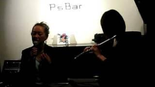ジャズフルート奏者 小島のり子さんが、YOU TUBE で石川さゆりが歌って...