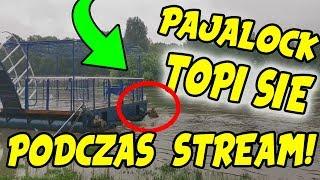 PAJALOCK TOPI SIĘ PODCZAS STREAM!