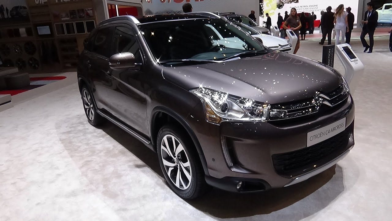 2016 citroen c4 aircross exterior and interior geneva motor show 2016 youtube. Black Bedroom Furniture Sets. Home Design Ideas