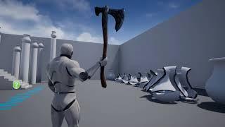 ue4 god of war axe throwing