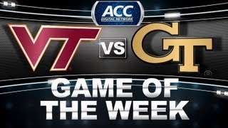 Game of the Week | Virginia Tech vs Georgia Tech | ACCDigitalNetwork