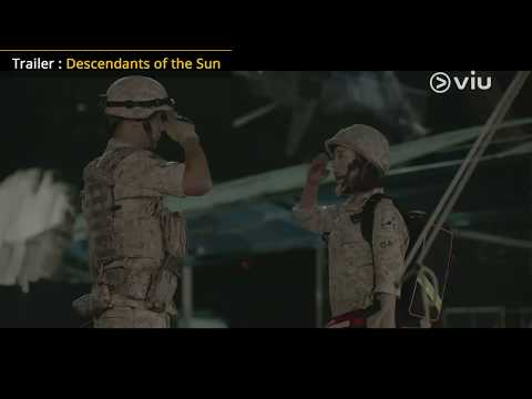 Descendants Of The Sun (Trailer W/ Eng Subs)