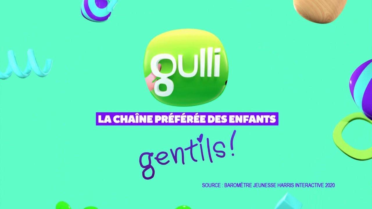 """Musique de la pub Gulli – groupe M6 """"la chaîne préférée des enfants gentils!""""  2021"""