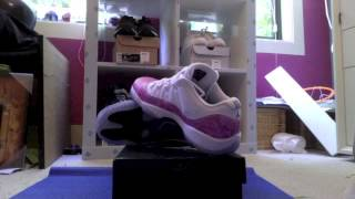 Air Jordan 11 Retro Low Pink Snake Skin Review/On Feet Thumbnail