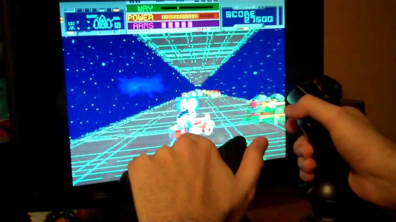 MAME Analog Flight Stick Games 1/2