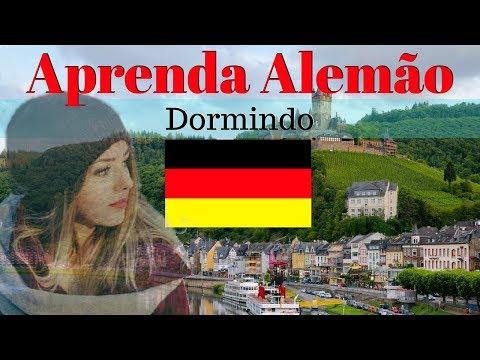 Aprender Alemão Dormindo // 130 Frases Essenciais Em Alemão \\ áudio em Alemão / Português
