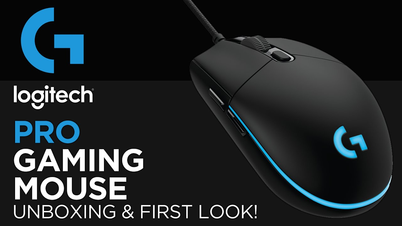 cf79aee6558 Logitech G Pro Gaming Mouse Unboxing & First Look! - YouTube